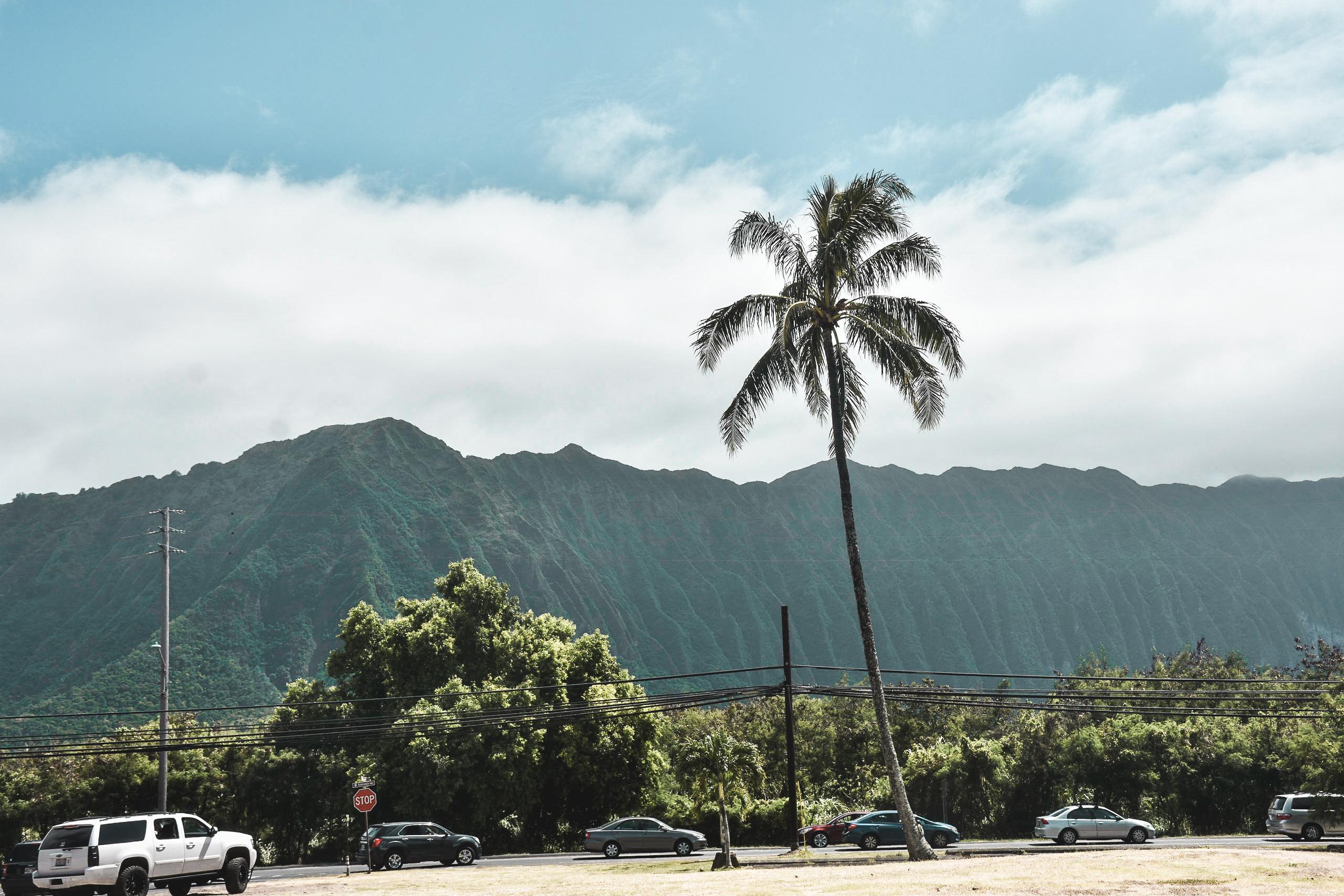 Vulcan Mountains in O'ahu