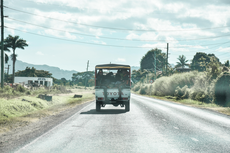 A usual drive in Fiji