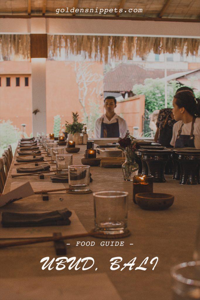 Food Guide Ubud Bali