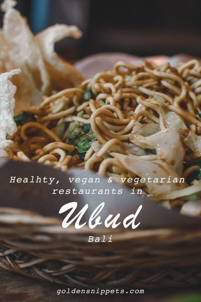 Vegan and Vegetarian Restaurants Ubud Bali