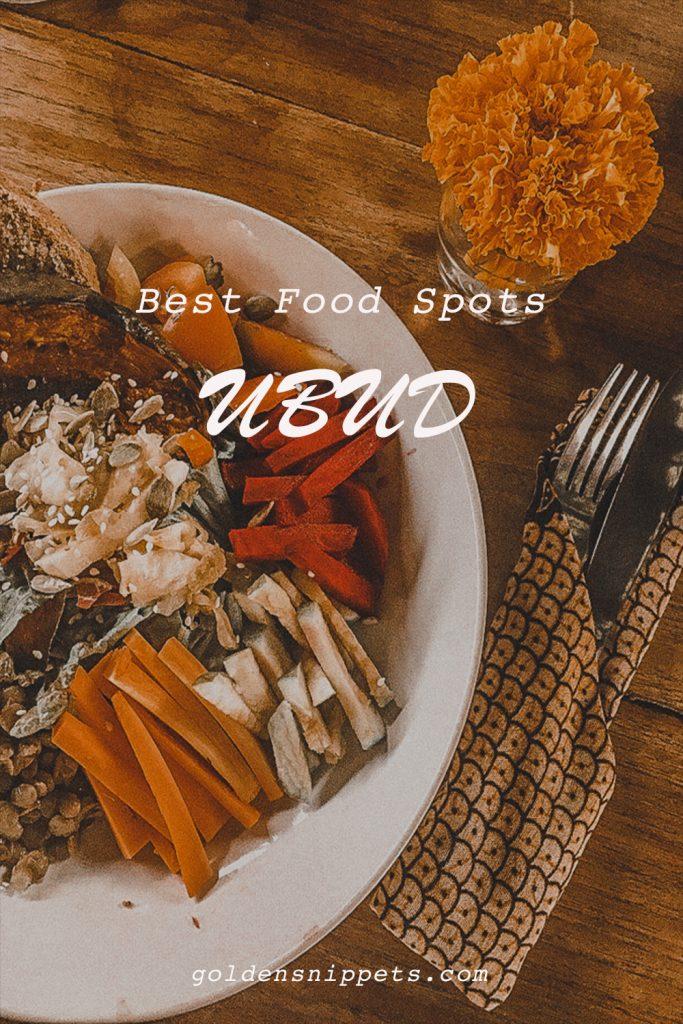 Best Food Spots Ubud Bali