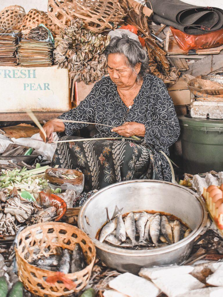 Local Food Market Ubud Bali
